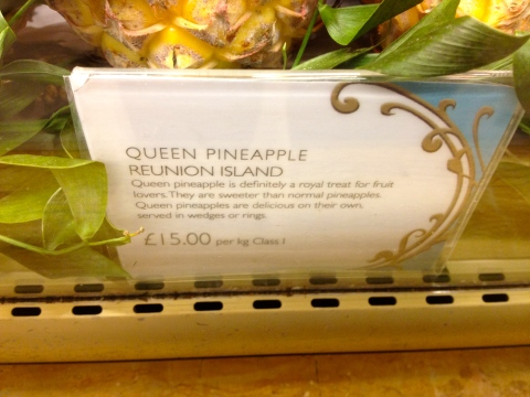 Pineapple prices