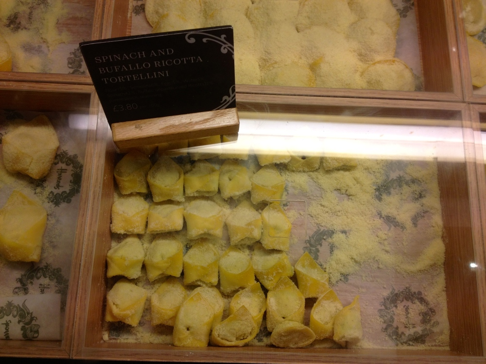 Beautiful, plump filled pasta