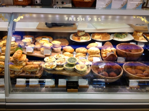 Some really excellent Pies! Almost as good as the pieminister in Borough market.