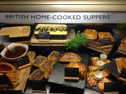 """Home Cooked"" British favorites, love the fancy fish pie."