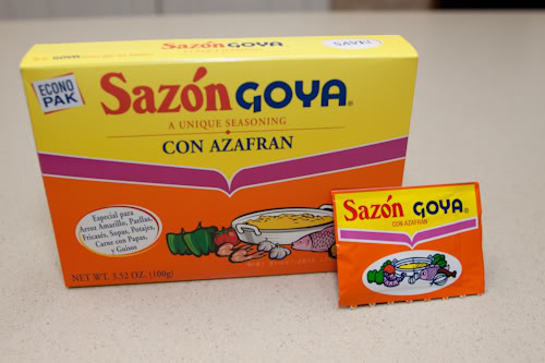 What is the difference in Goya Sazon Archiote ,Azafran and Criolo ...
