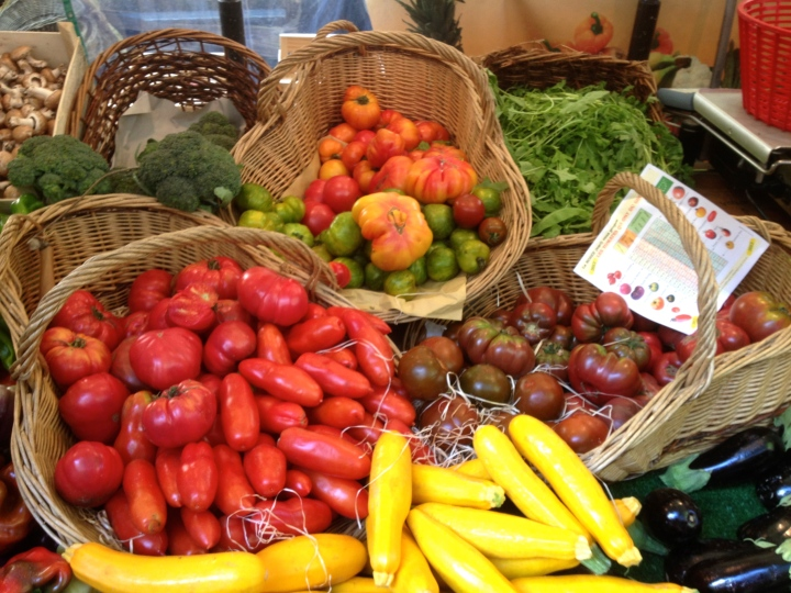 More gorgeous produce